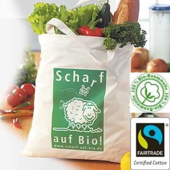 fairtrade Tasche, Bio-Baumwolltasche